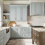 kitchen-remodel-inm-alpharetta-ga-kraftmaid-seafoam-blue-maple-cabinets-kitchen-island