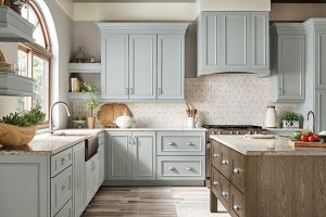 kitchen-remodel-inm-alpharetta-ga-kraftmaid-seafoam-blue-maple-cabinets-kitchen-island